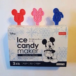 DISNEY MICKEY MOUSE ICE & CANDY POPSICLE MAKER